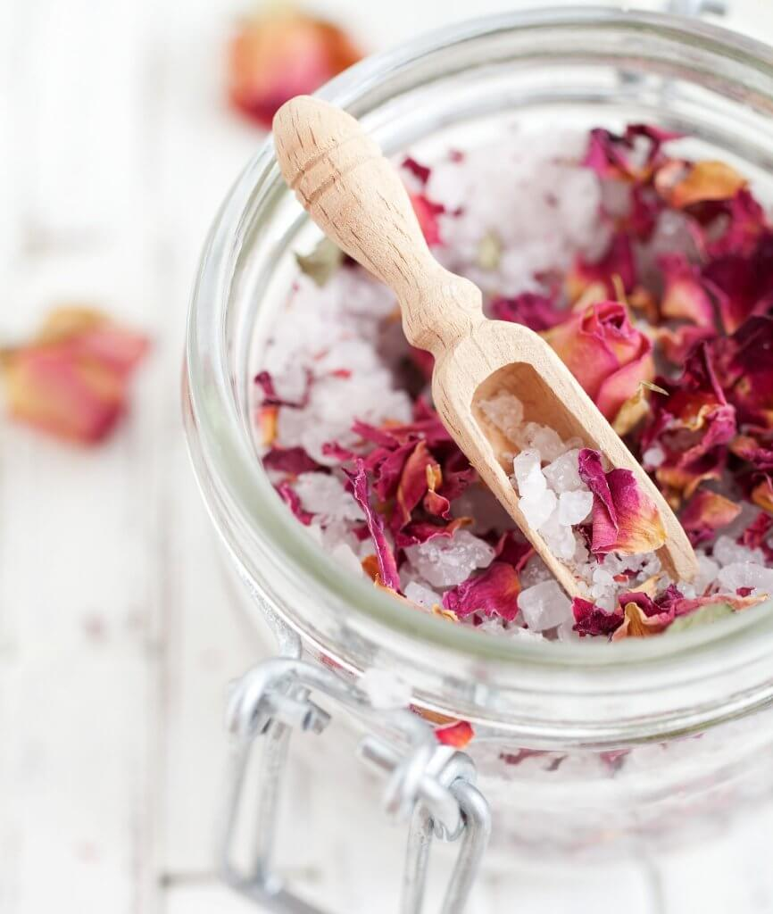 Hormone Balancing Rose Bath Salts