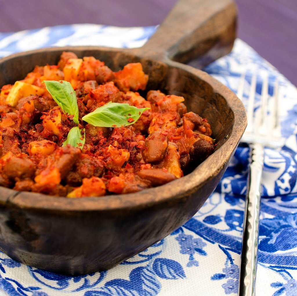 Spicy Sweet Potato Chili