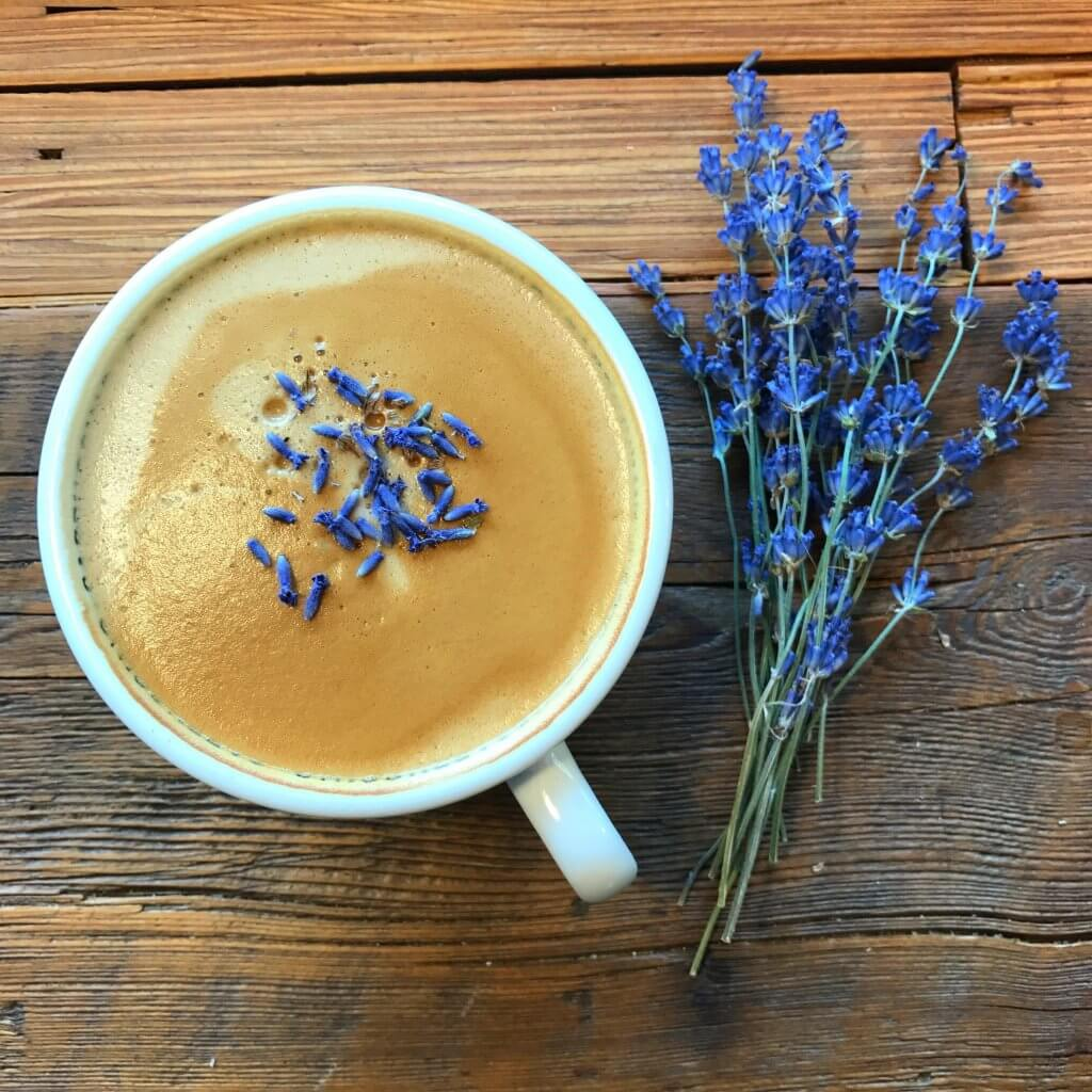 Lavender Latte Recipe