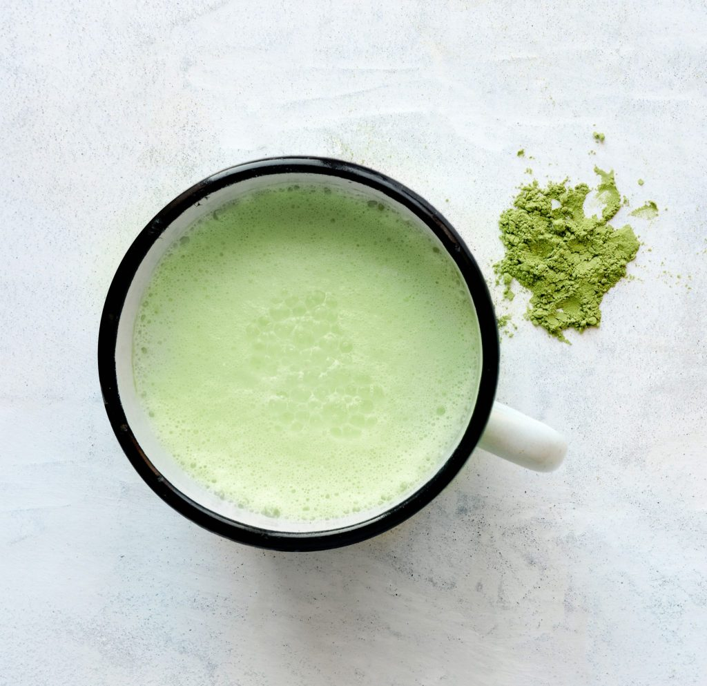 My Morning Matcha Latte