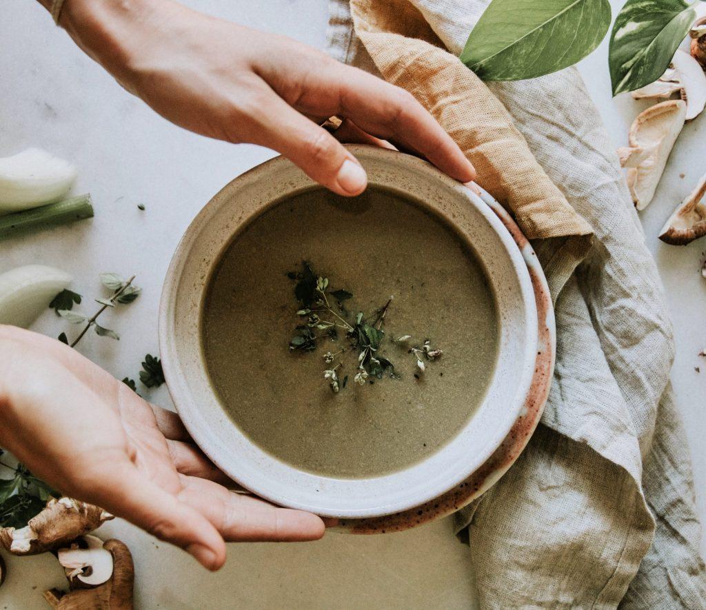 Medicinal Mushroom Soup