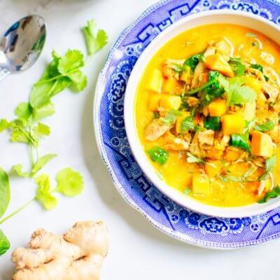 Coconut Curry Soup [Keto/Paleo Recipe]