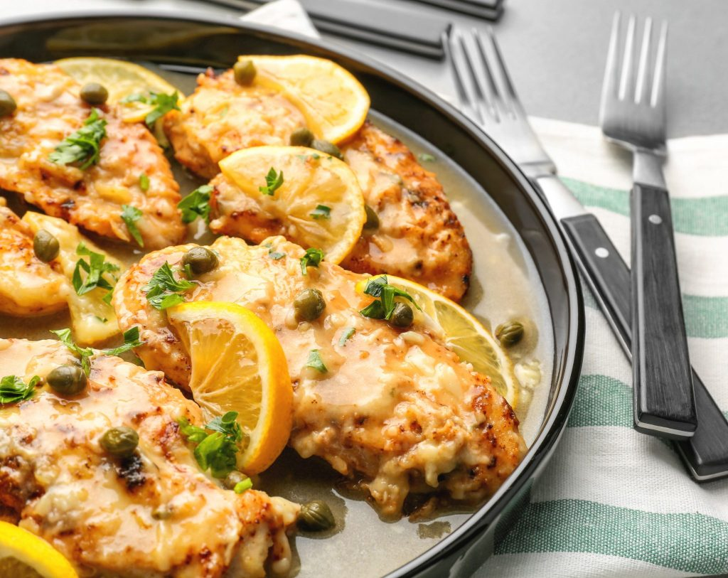 Paleo Lemon Chicken Piccata