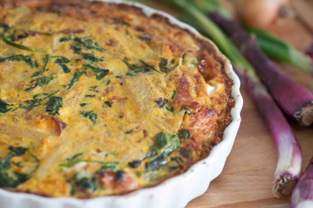 Keto Frittata with Spring Vegetables: Recipe