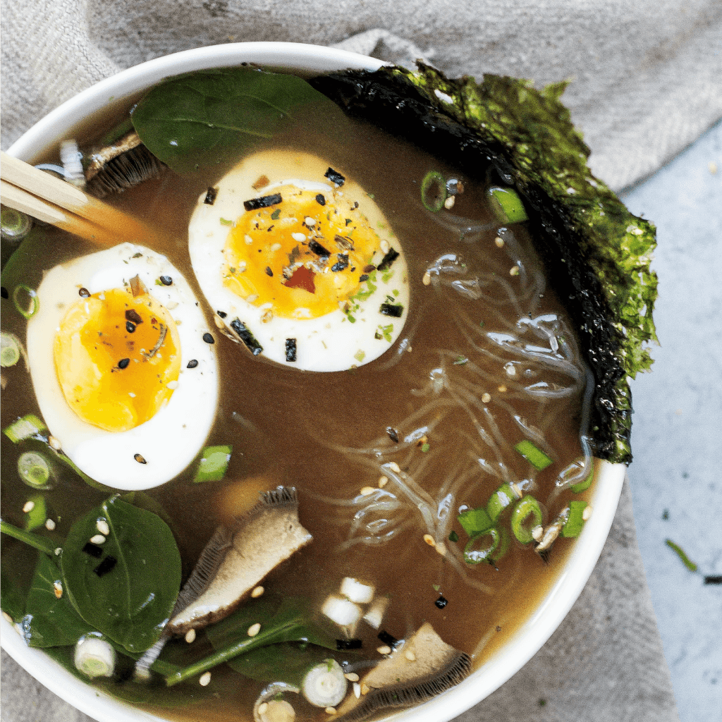 Warming [Low-Carb] Ramen Recipe